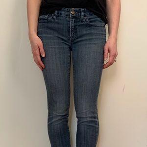 """J.CREW """"Toothpick"""" Skinny Jeans"""